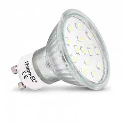 Pack de 10 ampoules LED GU10 4W SMD Dichroïque (9+1 offerte)
