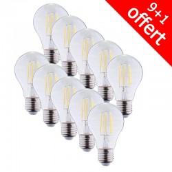 Ampoule LED E27 6W COB Filament Bulb
