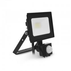 Projecteur LED SMD 10W Extérieur IP65 Gris + Détecteur