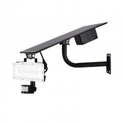 Projecteur LED SMD Solaire 20W + détecteur