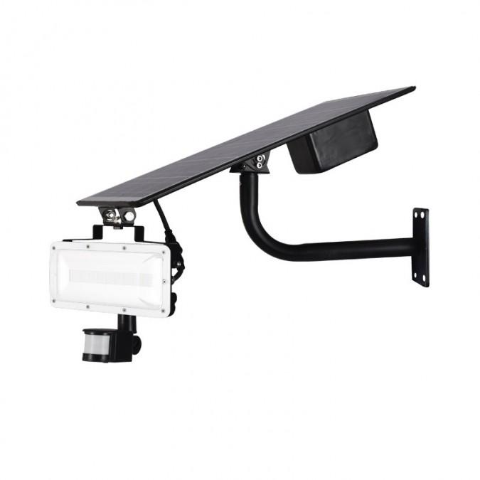 Projecteur LED SMD Solaire 40W + détecteur