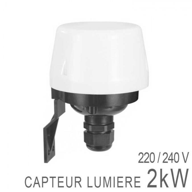 Détecteur Crépusculaire / Capteur Photoélectrique 10A