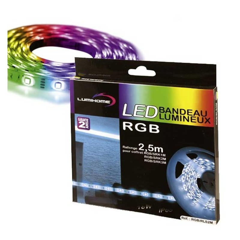 Rallonge 5m ruban led rgb boutique officielle lumihome - Ruban led rgb ...