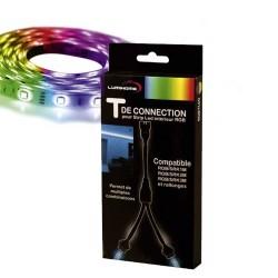 Connecteur T pour Ruban LED RGB