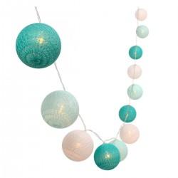 Guirlande décorative MIMY SOLAR Pastel