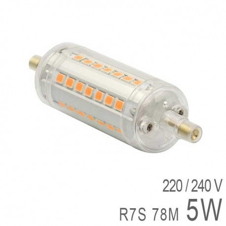 Ampoule LED R7S 5W 78mm