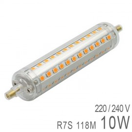 Ampoule LED R7S 10W 118mm