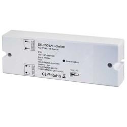 Boîtier Interrupteur / Récepteur 230V RF 1x Channel 288W
