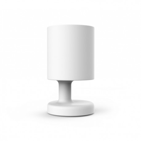 Lampe poser rechargeable blanche baby petit prix for Lampe a poser blanche