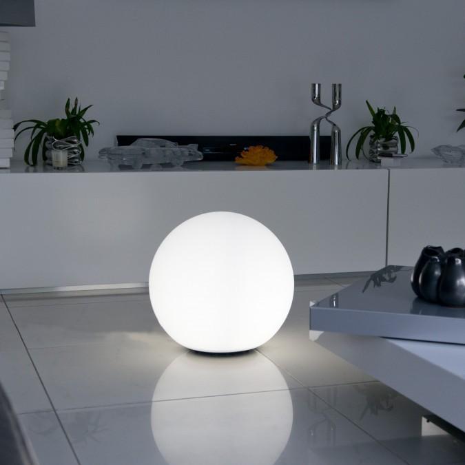 Boule lumineuse blanche BOBBY Ø40, 50 et 60cm