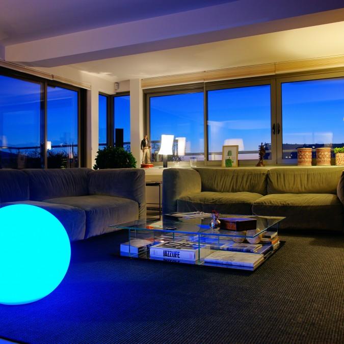 Boule lumineuse Multicolore BOBBY C Ø30, 40, 50 et 60cm