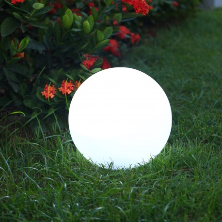Lumineux lumisky boule lumineuse multicolore solaire solsty c 30 - Guirlandes lumineuses solaires exterieures ...