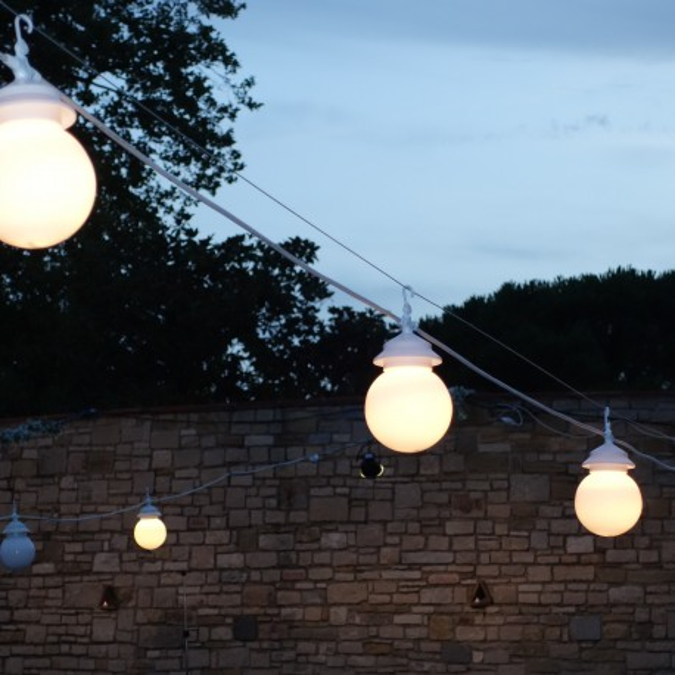 Guirlande lumineuse blanche CHERRY W