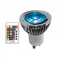 Ampoule LED GU10 5W RGB