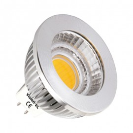 Ampoule LED GU5.3 - 5W COB Aluminium 80° Dimmable