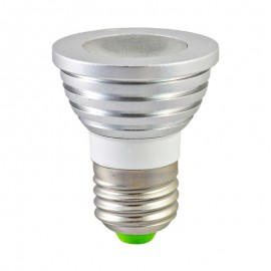 Ampoule LED E27 3W RGB