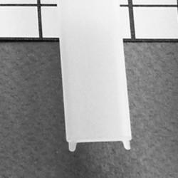Diffuseur clip 15,4 mm pour Profilé LED Aluminium