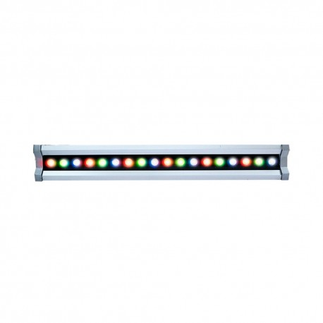 Barre LED Wall-Washer RGB 36W 1M étanche IP65