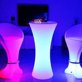 Mange-Debout lumineux multicolore BAR PARTY C110