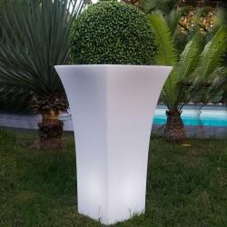Pot lumineux Blanc DANDY W85