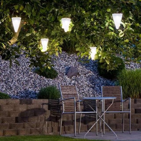 Balise lumineuse Solaire HANG CREAMY W34