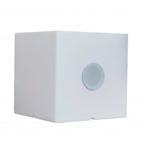 Cube lumineux, multicolore et musical rechargeable CARRY PLAY