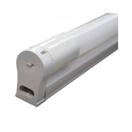 Support simple + Tube LED T8 10W 600 mm