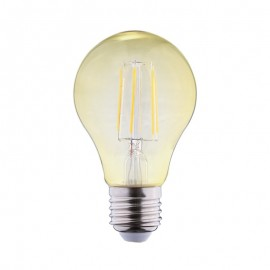 Ampoule LED E27 Bulb 8W COB Filament Golden (Dimmable en option)