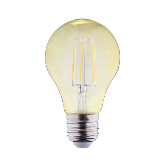 Ampoule LED E27 Bulb 8W COB Filament Golden (Dimmable en option)