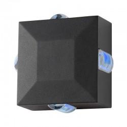 Applique Murale LED 6W Carrée Eclairage bleu