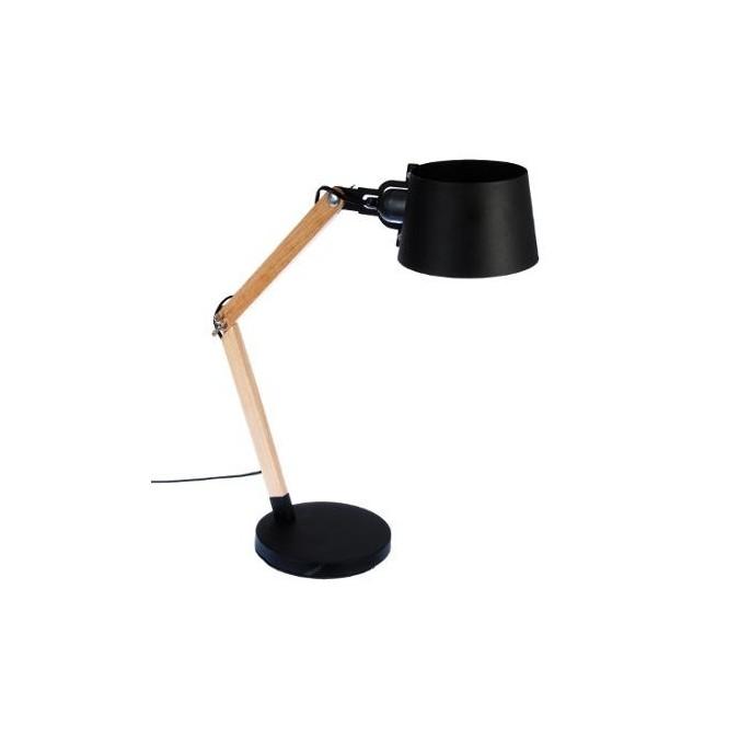 Lampe en Bois & métal H60