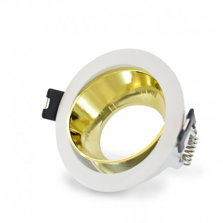 Support de spot Rotatif Basse Luminance Ø80mm
