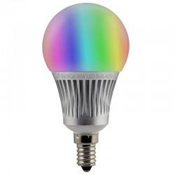 Ampoule LED Connectée E14 5W RGBW