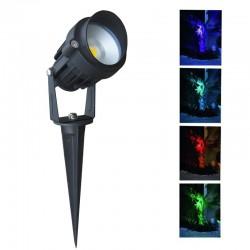 Spot piquet extérieur LED COB 7W RGB
