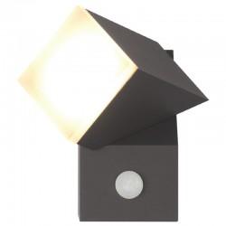 Applique murale LED Orientable 8W + Détecteur