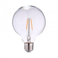 Ampoule LED E27 Globe 2W COB Filament G125