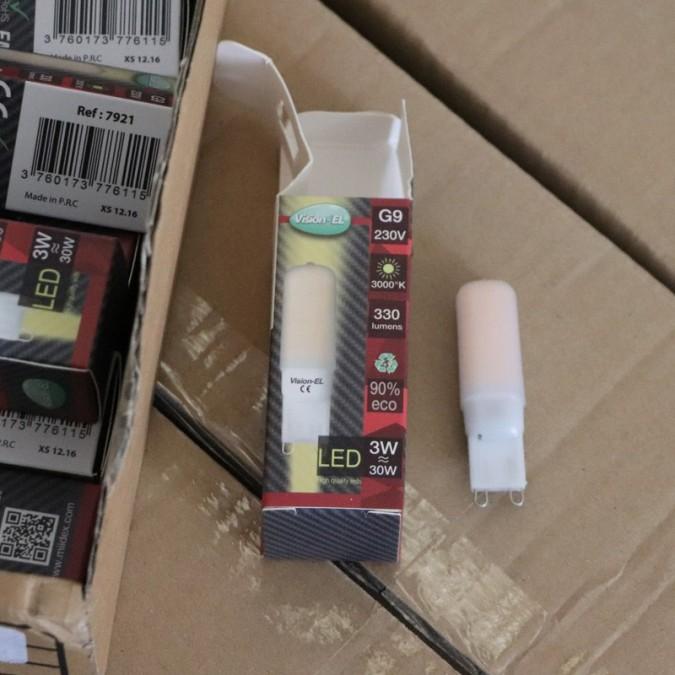 Ampoule LED G9 3W SMD Finition dépolie