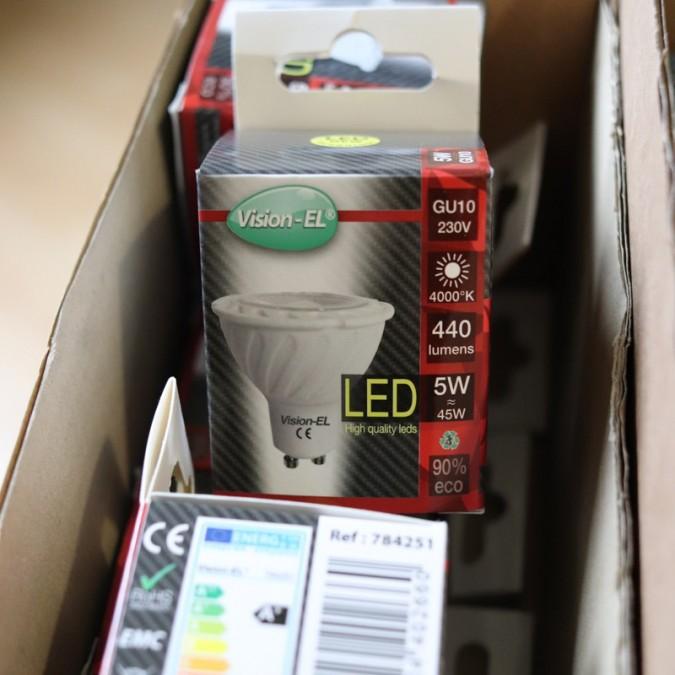 Ampoule LED GU10 5W COB 38°