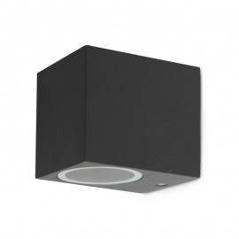 Applique murale carrée LED fixe 1 x GU10