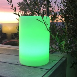 Colonne lumineuse multicolore rechargeable Alty C24