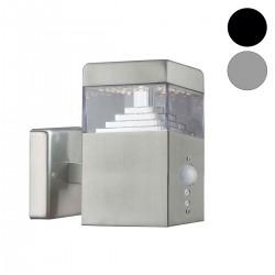 Applique Pyramide Inox LED SMD à détecteur