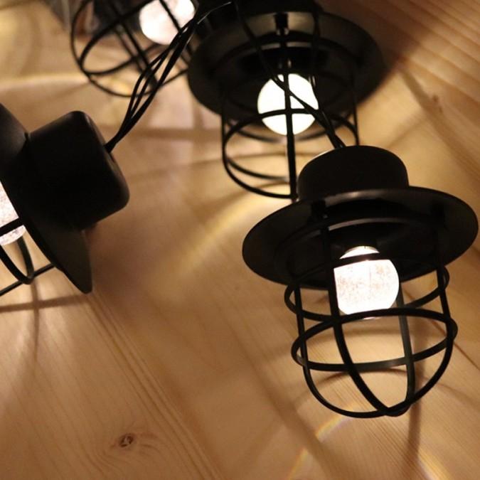 Guirlande LED solaire DETROIT