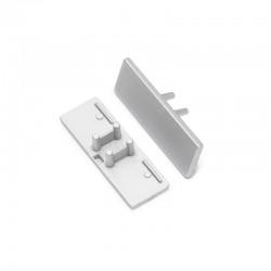 Sachet de 2 terminaisons pour Profilé Alu LED Arrière