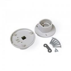 Support de Fixation pour Profilé Alu LED Ovale