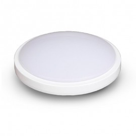 Plafonnier LED 18W Rond Ø280 mm IP65 (détecteur en option)
