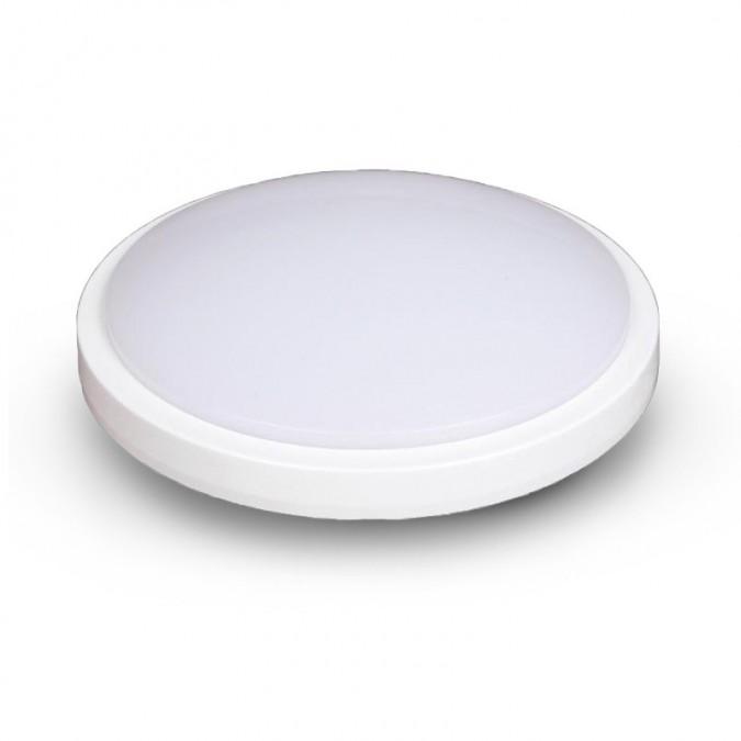 Plafonnier LED 18W Rond Ø280 mm IP65 (détecteur en option)