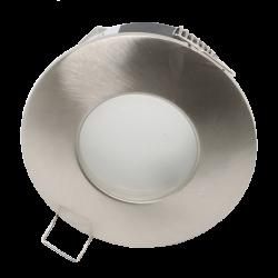 Support de spot Rond étanche IP65 Blanc Ø82mm