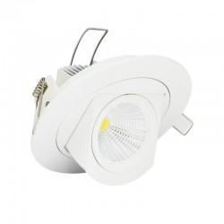 Spot Orientable LED COB Escargot 10W Rond