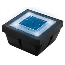 Pavé Encastrable LED Solaire Bleu/blanc