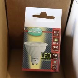 Ampoule LED GU10 4W COB 80°